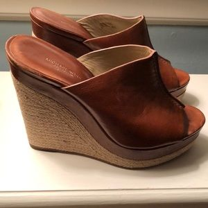 MICHAEL KORS COLLECTION WEDGE SLIDE